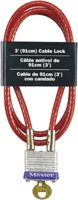 Bike Cable 7/32x3'W/#7 Lock Cd