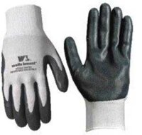 Gloves Blk Foam Nitrile Ctd M
