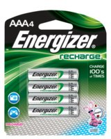 Battery Aaa Rechargeable 4/Cd