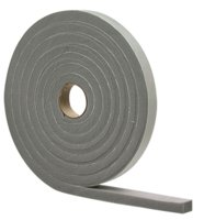 Foam Tape 1/2x3/4x10'W/A Gray
