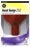 Heat Lamp 250w Red Bowl