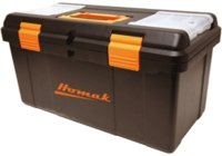 "Tool Box 23"" Plastic Black"