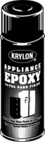 Spray Epoxy Appliance Black