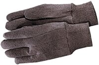 Gloves 9 Oz Jersey Brown Sm
