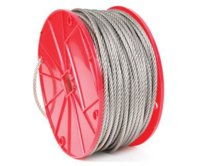 "Cable 3/32""7x7 Stainless 500'"