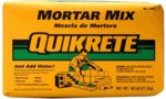 Concrete Mixes: Mortar