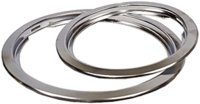 "Trim Ring 8"" Universal Chrm Cd"