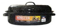 "Roaster 18"" Oval W/Cover"