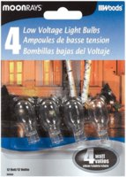 Bulb 4w Wedge Base Clear 4/Pk