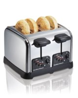 Toaster Bagel 4-Slice Chrome