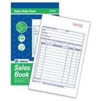 "Sales Book 5.5x8.4"" 2-Pt 50set"