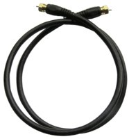 Coax Cable 3' Rg6 Black
