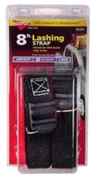 Lashing Strap 8' Keeper 2/Pk
