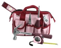 Tool Set 7-Pc Pink W/Bag