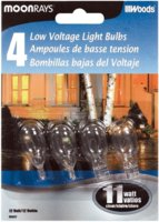 Bulb 11w Wedge Base Clear 4/Pk