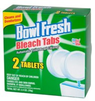 Toilet Cleaner Bleach Tab 2pk