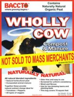 Manure Wholly Cow 40 Qt