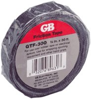 "Friction Tape 3/4""x60' Black"