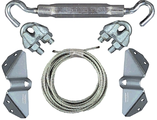 Gate Kit Anti-Sag Znc V852