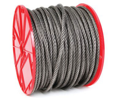 "Wire Rope 500' 3/8"" 6x19 Fc"