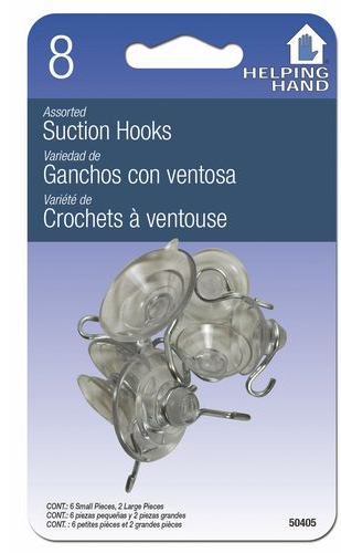 Hangers: Suction