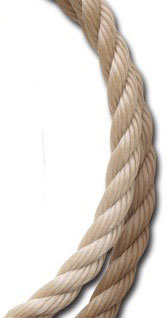 Rope: Polypropylene, Twisted