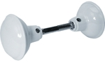 Knob Set W/Spindle White