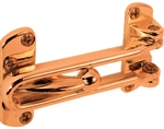 Door Guard Swing Loop Brass