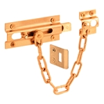 Auxiliary Locks: Chain Door Guards