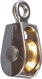 "Pulley 1"" Fixd Single 3203bc"