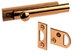 "Surface Bolt 3"" Solid Brass"