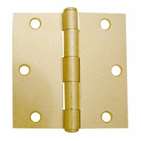"Hinge 3"" Us4 Sq Mortise Pair"