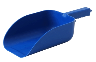 Utility Scoop 5pt Blue Plastic