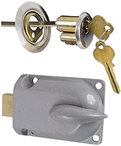 Garage Deadbolt Lock Alum