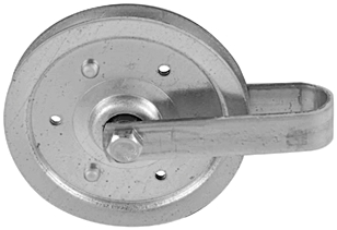 "Garage Pulley Assembly 3"" Galv"