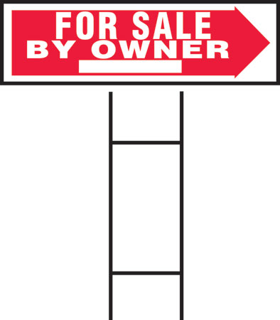 "Sign 10x24""for Sale By Owner"""