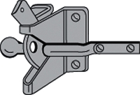 Gate Latch Galv