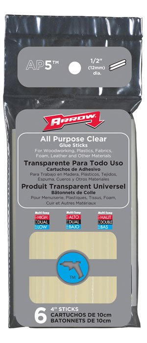"Glue Stick 4"" All Purpose 6/Pk"