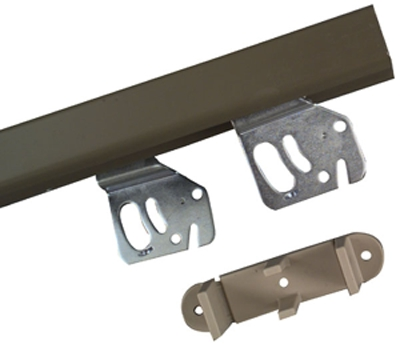 "Door Hardware By-Pass 60"" Galv"