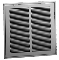 "Filter Grill 12""x12"" White"