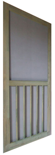 "Screen Door 36"" Treated 5-Bar"