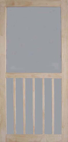 "Screen Door 32"" 5-Bar Stainble"
