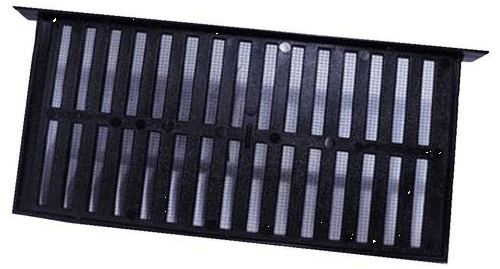Vent Foundation Plastic Black