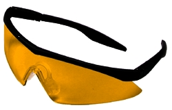 Safety Glasses Amber Lens