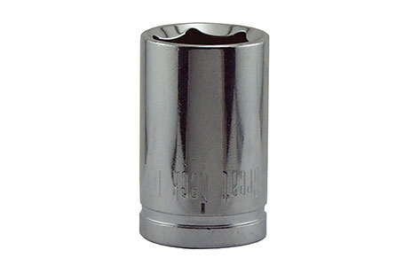 "Socket 17mm 6pt 1/2""dr"