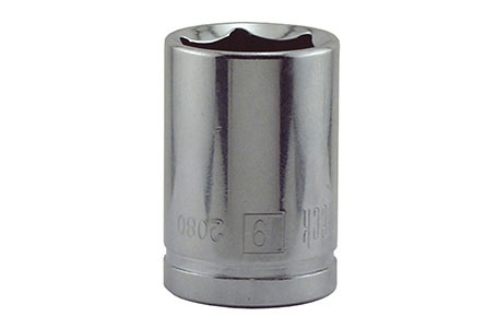 "Socket 19mm 6pt 1/2""dr"