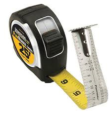 "Tape Measure 1-1/16""x25'Planrd"