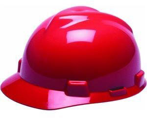 Hard Hat Red Std.Vgard Unipro