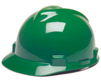 Hard Hat Green Std.Vgrd Unipro