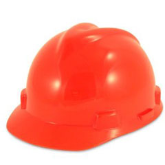 Hard Hat Hi-Vis Orange V-Guard